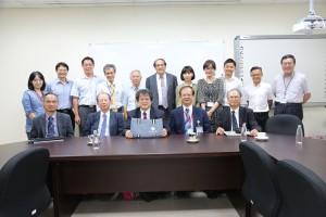 日本慶應義墊大學醫學院院長Prof. Makoto Suematsu, M.D., Ph.D.蒞臨演講及參與合作會議。